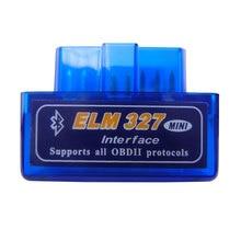 Super Mini Elm327 Bluetooth OBD2 2 V2.1 Elm 327 V 1.5 OBD Scanner de Diagnóstico Do Carro Ferramenta Elm 327 adaptador OBDII Auto Ferramenta de Diagnóstico