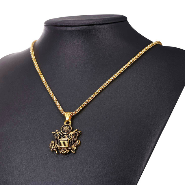 Statement Necklace Great Seal of the United States