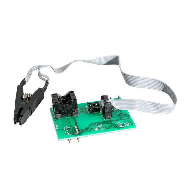 Free shipping xprog eeprom board upa usb v1.3 programmer upa usb adapter with soic 8 sop8 test clip for xprog V5.60/V5.70/V5.74