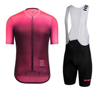 SPEXCEL 2018 colourburn pro team aero cycling jersey+pro team bib short kit new fabric coolest Suitable for hot summer