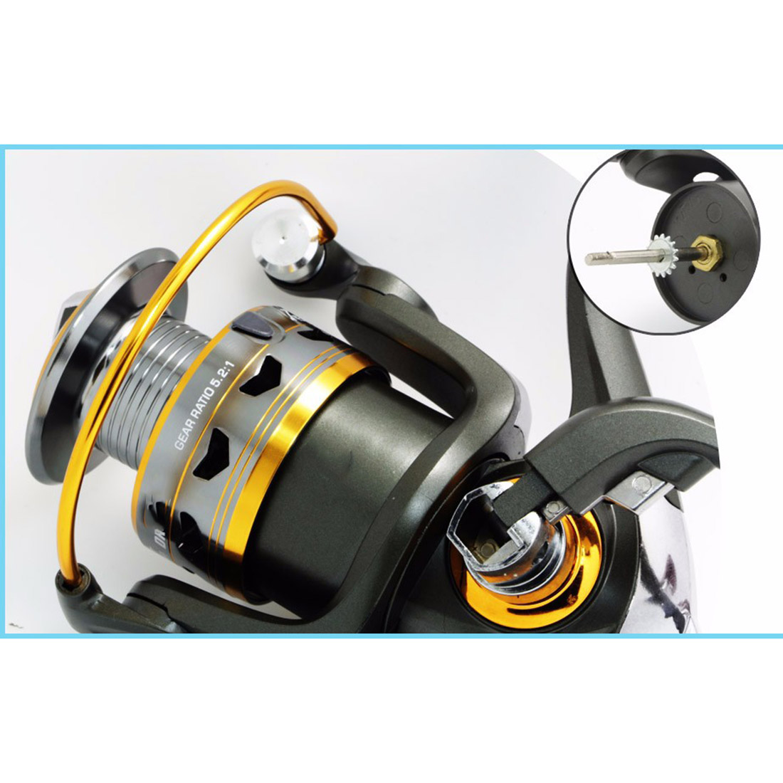 Fishing German Technology Fishing Reel 11BB 2000-6000 Series Spinning Reel For Feeder Fishing