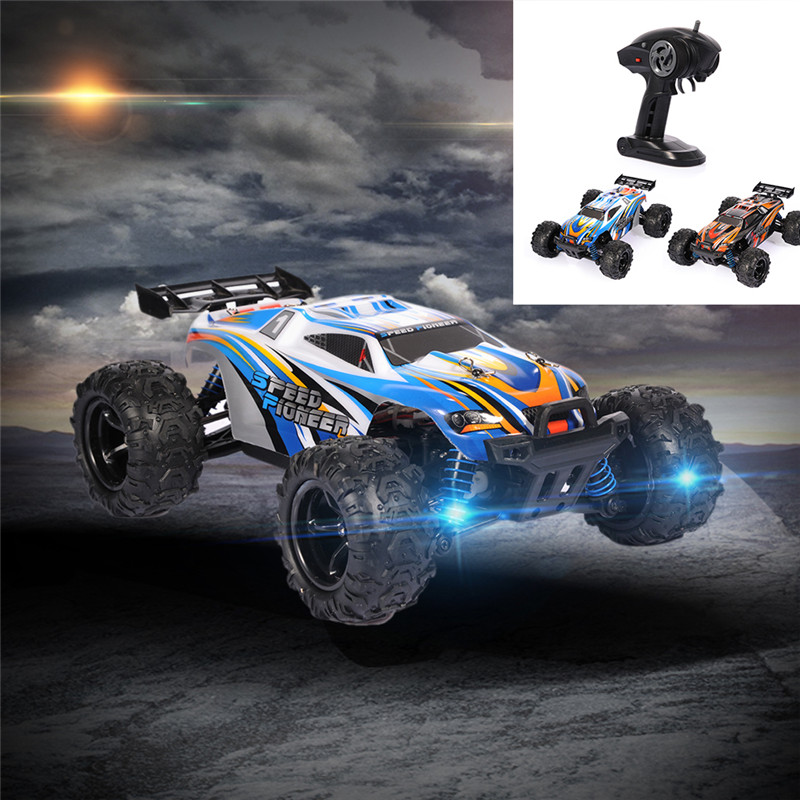 2017 New Arrival electric RC truck 9302 1:18 2.4G 4WD 40-50KM/H high speed Radio Control Truck RC Buggy Off-Road VS A959 Truck