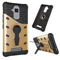 Para asus zenfone 3 caso max zc520tl à prova de choque capa de silicone 360 graus de rotação caso de telefone para zenfone 3 max zc520tl Coque