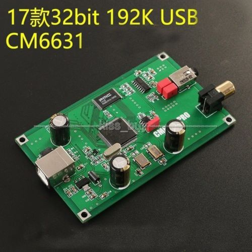 Opa2132 Usb Decoder Board 24bit 96 Khz Cs4398 Dynamisch Usb 2.0 Sa9023