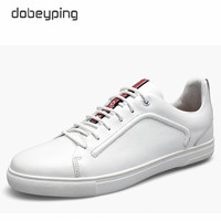 2017 New Loafers Men Comfortable Genuine Leather Man Flats Shoes Lace Up Casual Men S Shoe