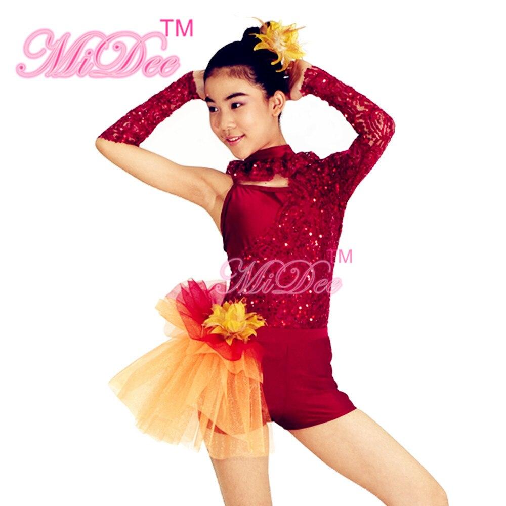 44edcd43d5b8 MiDee Jazz   Tap Dance Costumes Girls Contemporary Dance Costumes ...
