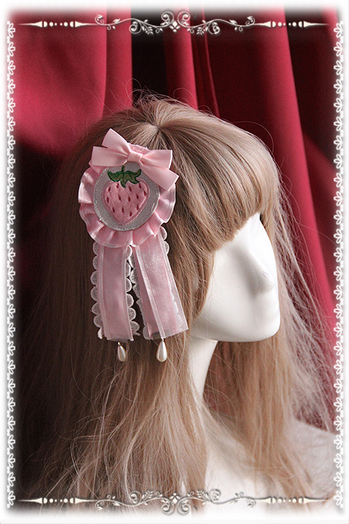 LoliGals Lolita Store Infanta Applique Lolita Brooch/Headpiece 5 Colors