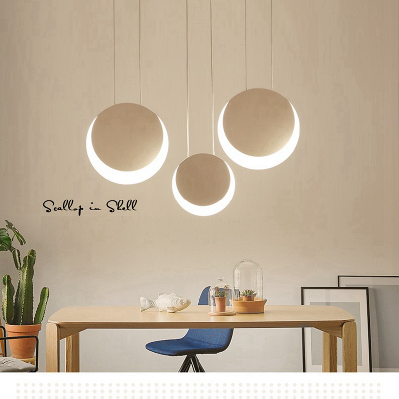 LukLoy Moon Pendant Lights Loft Hanging Light Fixture Kitchen Hanglamp Living Room Bedside Hanging Lamp Living Room LuminaireLukLoy Moon Pendant Lights Loft Hanging Light Fixture Kitchen Hanglamp Living Room Bedside Hanging Lamp Living Room Luminaire