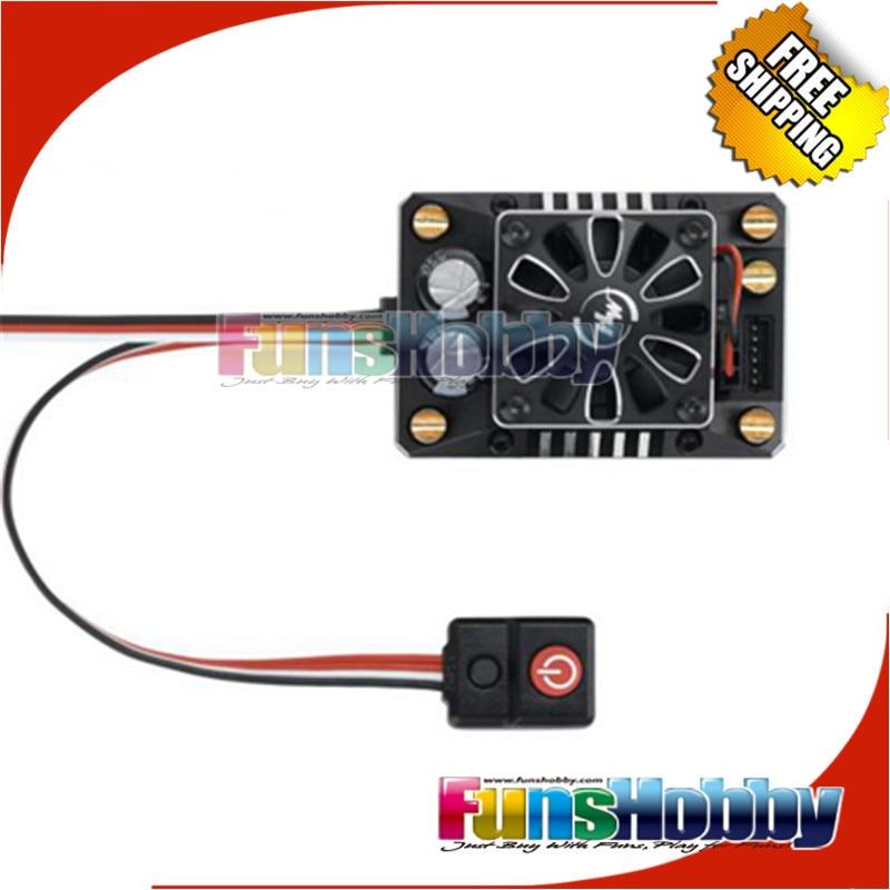 Hobbywing XR8 SCT 140A contrôleur de contrôle de vitesse ESC sans balai pour 1/8 1/10 RC voiture Auto camion Traxxas Tamiya sur route COD.30113301