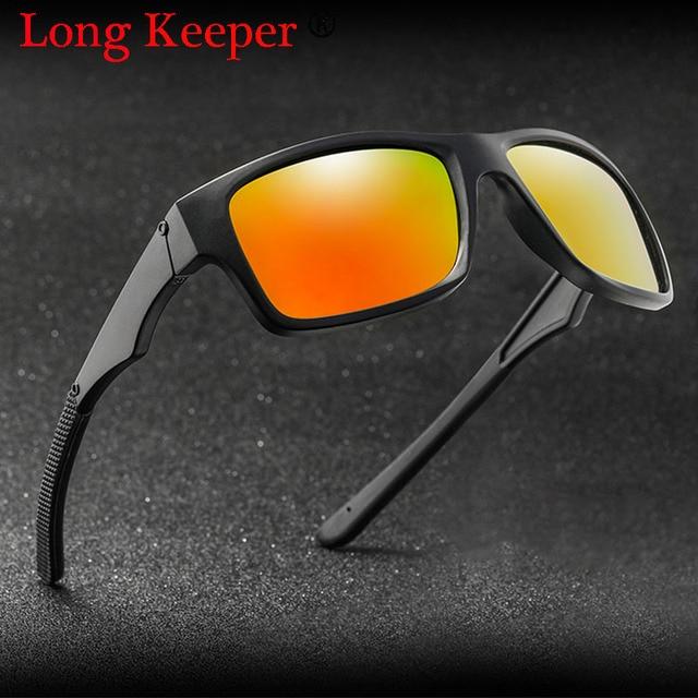 93a66a2fea 2018 Hot! Classic Polarized Sunglasses Men Women Night Driving Square Black  Frame Sun Glasses Male Eyewear UV400 Gafas De Sol