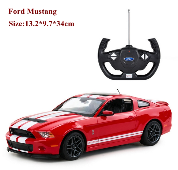 New 1/14 Mustang GT500 shelby rc car classic need for speed model drift toy for car fans electric hot model toy juguetes