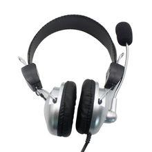 3.5 Mm Wired Gaming Headset Deep Bass Permainan Earphone Profesional Computer Game Headphone dengan Mikrofon untuk Komputer LOL/Pugb