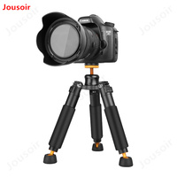 QZSD Q178 Portable Tripod SLR Single Micro Camera Desktop Mini Tripod Support Frame Load 3kg 90mm 245mm CD15