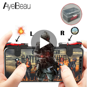 Gamepad L1R1 Pubg Mobile Controller For Game Pad Joystick Trigger For Cellular Phone Cell L1 R1 Control Joypad Console Cellphone