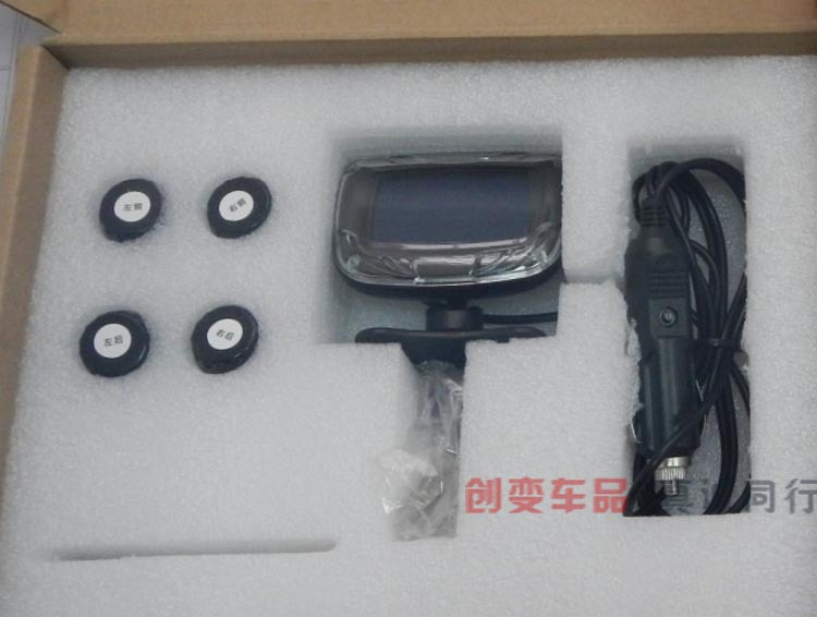 TPMS wireless tire pressure detection, automobile tire pressure detection system  tire pressure monitoring system