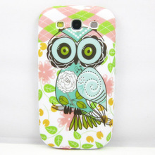 for Samsung Galaxy S3 Case Cartoon Owl Flower Silicone Back Cover for Samsung Galaxy S3 I9300 Phone Cases Cover