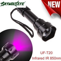 DC 22 Shining Hot Selling Drop Shipping Outdoor UF T20 Cree Infrared IR 850nm Night Vision