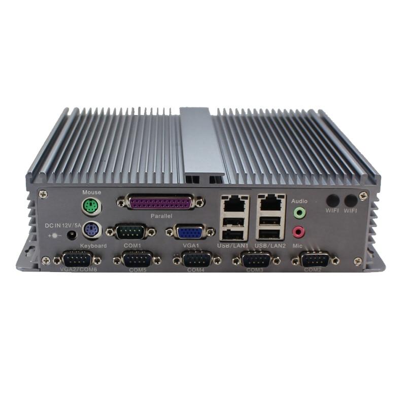 Mini pc intégré atome D2550 quad core 1.86 GHz avec VGA et LVDS, 2 mini PCIe, 3 SATA, 1 mSATA 4G RAM 64G SSD