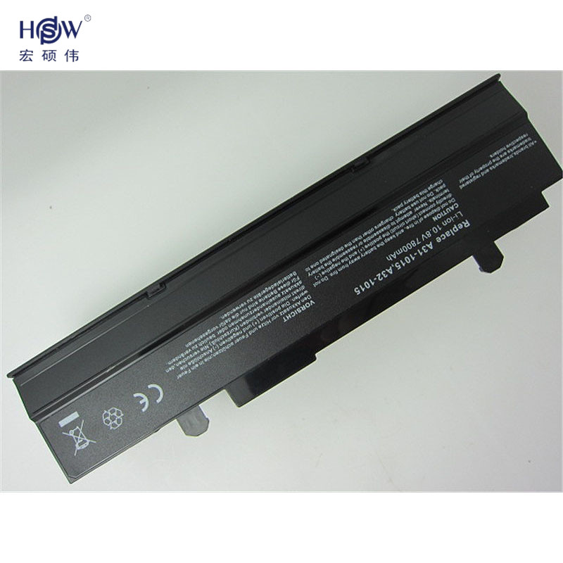 HSW 7800mAH Battery For Asus Eee PC EPC 1215 PC 1215B 1215N 1015b 1015 1015bx 1015px 1015p A31 1015 A32 1015 AL31 1015 battery in Laptop Batteries from Computer Office