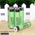 2017 6 PCS./lot 100% novo 18650 original bateria 3400 mAh bateria de iões de lítio 3.7 V PCB proteção