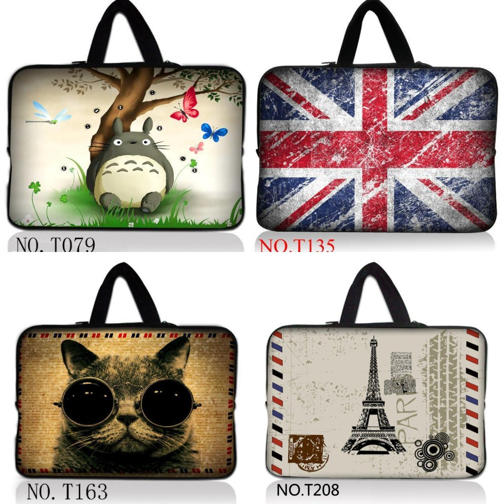 14 14.1 14.4 Laptop Netbook Tablet PC soft Handle Sleeve bag Carrying pouch for Lenovo Thinkpad T410 /Y470 Y480/ASUS A43
