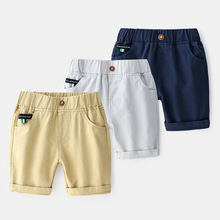 2019 Summer Shorts For Boys Elastic Waist Casual Pants Boys Shorts For Kids Loose Trousers 2017 summer newborn kids baby boys girls casual pattern printed short pants elastic waist cotton shorts