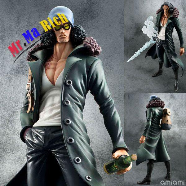 28cm Kuzan One Piece Anime Collectible Action Figures Pvc Collection Toys For Christmas Gift Free Shipping hot anime 24cm trafalgar law one piece action figures anime pvc brinquedos collection figures toys with retail box birthday gift