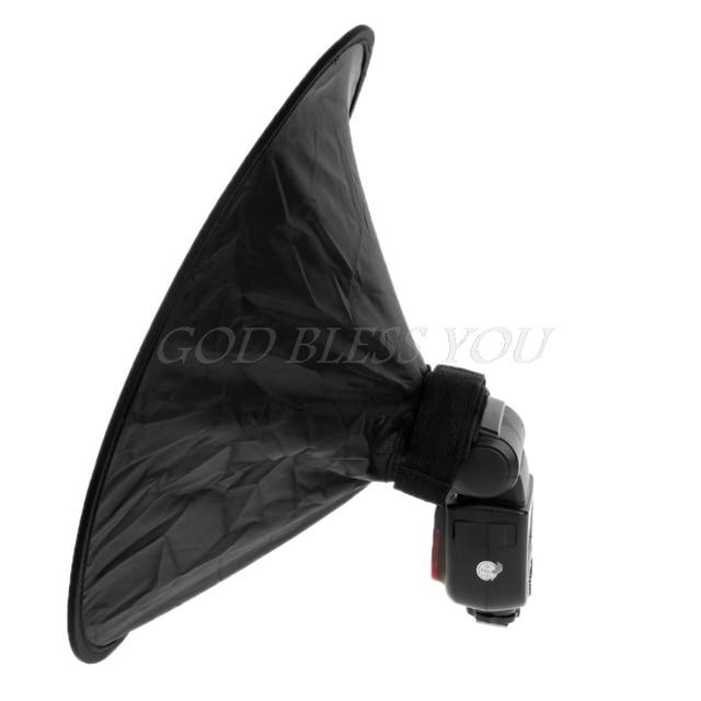 Universal 44cm Runde Studio Flash Softbox Speedlite Diffusor Reflektor Strap für camere Sony Yongnuo