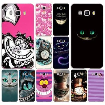 027 Alice in Wonderland Chesire Cat Mask  Soft Silicone Tpu Cover phone Case for Samsung j3 j5 j7 2016 2017 j330 j2 j6 Plus 2018