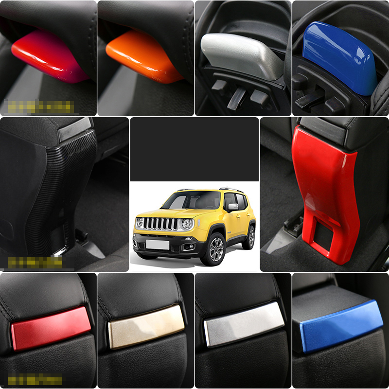 Lsrtw2017 Abs Car Armrest Switch Panel Trims for Jeep Renegade