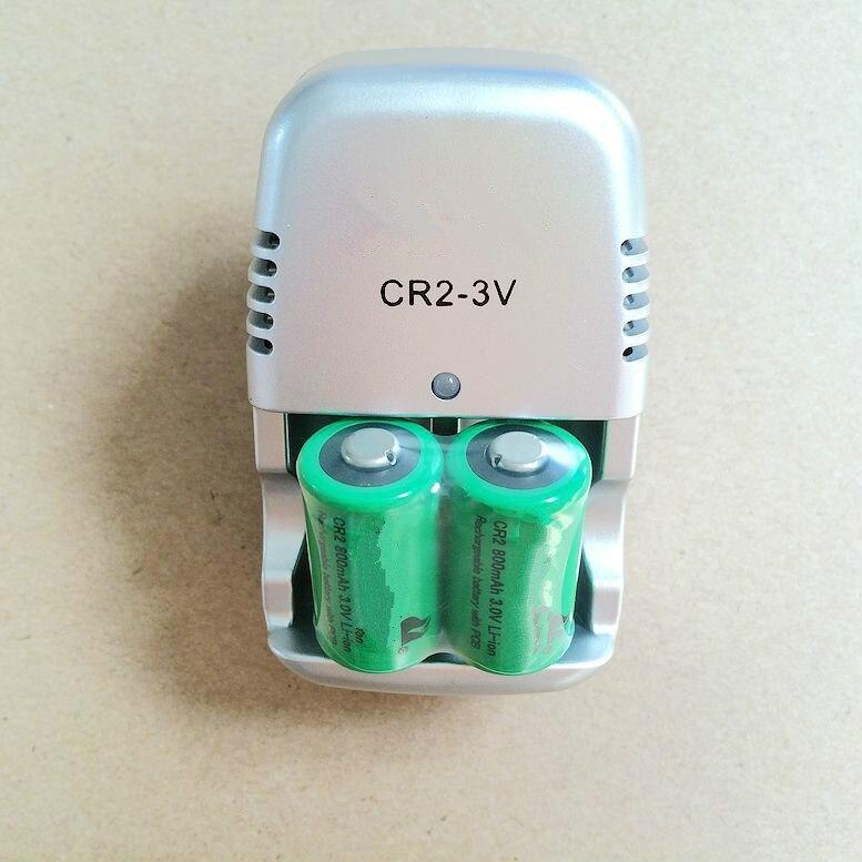 New 3 V carregador 15270 CR2 CR2 800 mah bateria recarregável 3 V, câmera digital, fez um especial da bateria