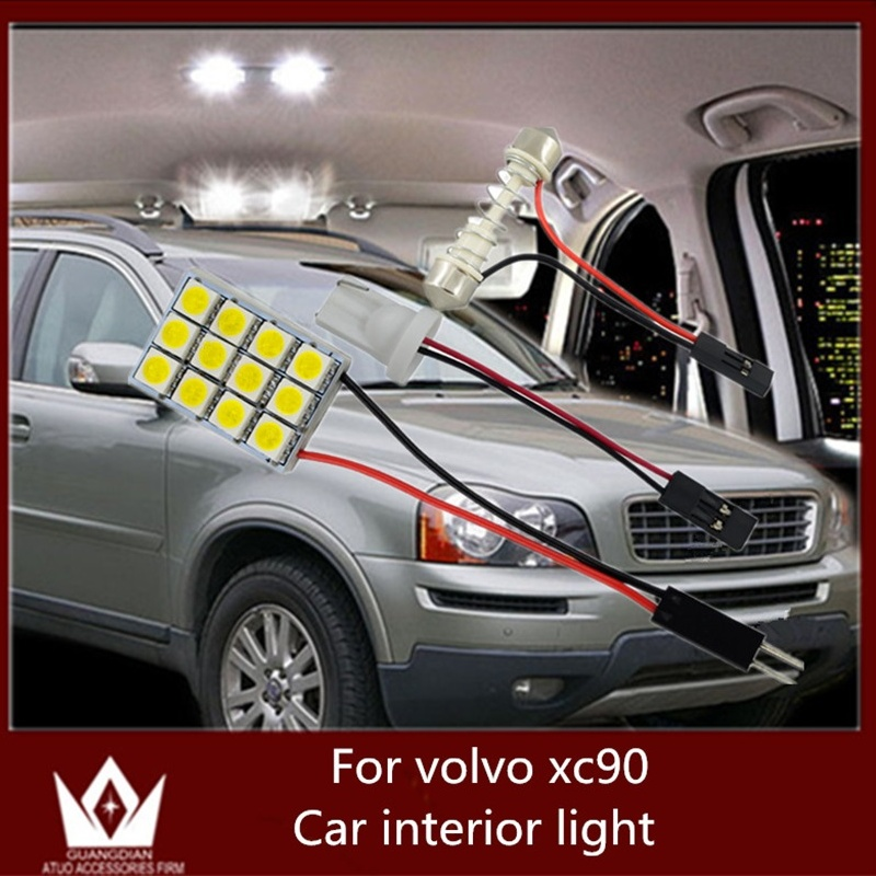 Tcart 6pcs Auto Led Bulbs 5050 Car Interior Lighting Dome Trunk Light Reading Lamp For Volvo