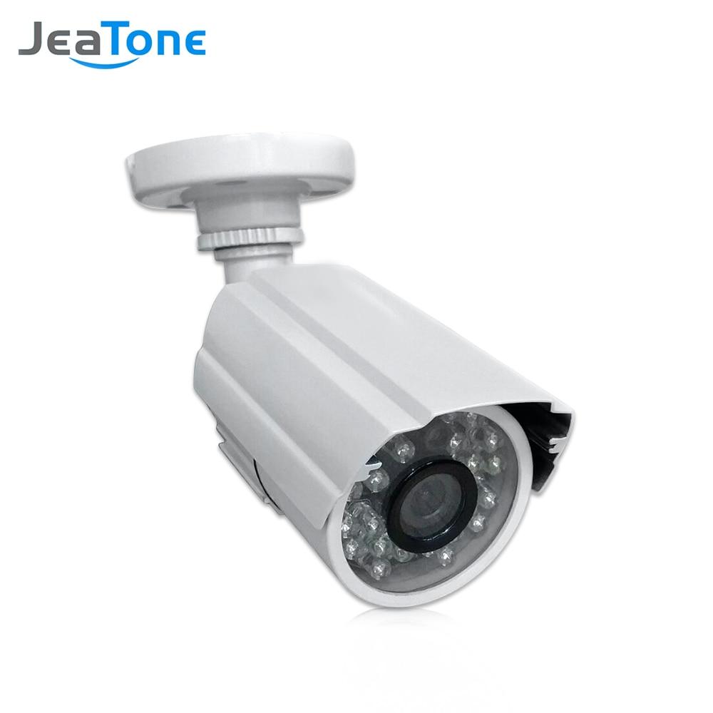 Caméra de surveillance analogique JeaTone 1/3 cmos 1200TVL cctv avec objectif 3.6mm caméra étanche caméra de sécurité