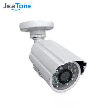 Камера видеонаблюдения JeaTone 1/3 cmos 1200TVL, аналоговая Водонепроницаемая камера с объективом 3,6 мм