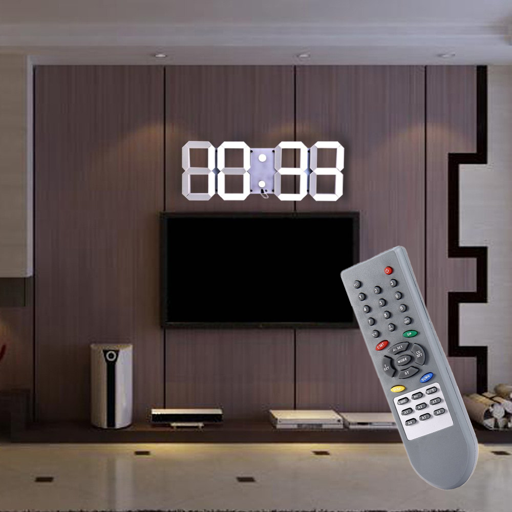 online kaufen gro handel gro e led digital wanduhr aus china gro e led digital wanduhr. Black Bedroom Furniture Sets. Home Design Ideas