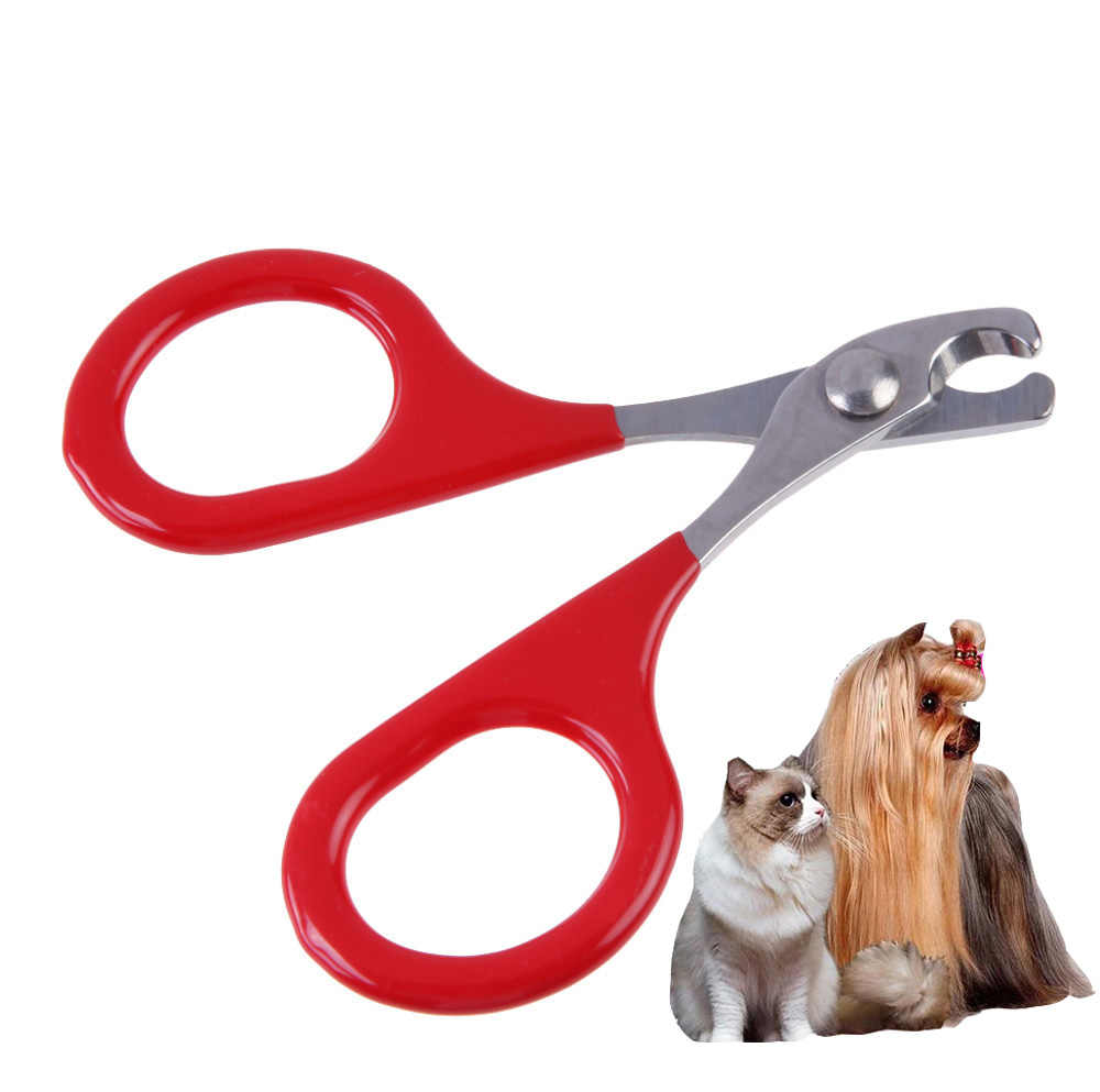 Professional Pet Dog Puppy Nail Clippers Toe Claw Scissors Trimmer Pet Grooming Products For Small Dogs Cats Puppy