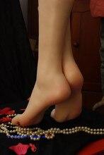 Free shipping!!Realistic Silicone Lifesize Female Realistic Mannequin Foot For Masturbators Simulation