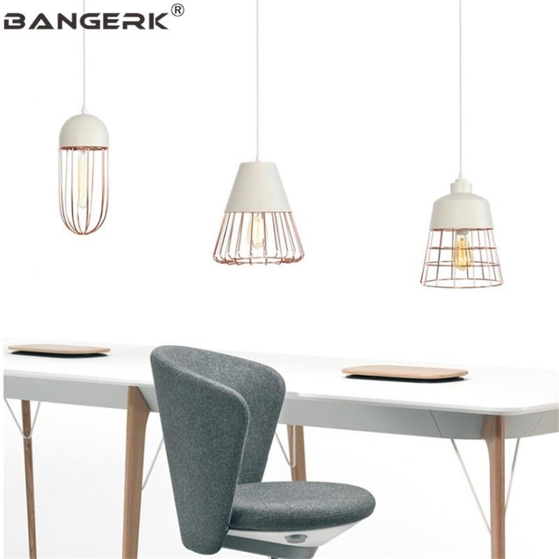 Simple Retro Design Led Pendant Light Vintage Industrial Decor Luminaire Pendant Lamp Dining Room Hanging Lamps Home Lighting