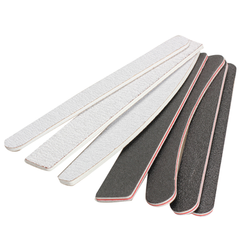 7pcs Grinding Nail File Polisher Buffer Nail Polishing File Buffing Sandpaper Sanding Manicure Beauty Tool