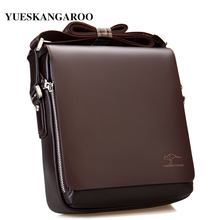 New Luxury Brand Men Shoulder Bag Leather Classic Vintage Casual Messenger Promotion Business Crossbody Male