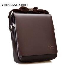 New Luxury Brand Men Shoulder Bag Leather Classic M