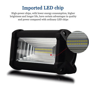 Image 5 - LED Lamps For Cars Auto And Motorcycle Excavator Engineering Vehicle Auxiliary Spotlight Work Light Luces Led Para Auto