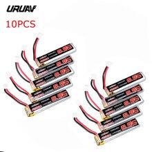 5 / 10PCS URUAV 3.8V 250mAh 40C/80C 1S Lipo Battery Rechargeable W/ PH2.0 Plug Connector for US65 UK65 QX65 URUAV UR65