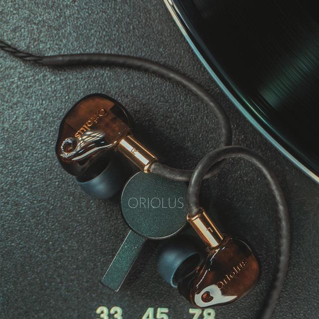 Oriolus Finschi HiFi Version 1BA+1DD Hybrid Drivers In-ear Monitor Earphone IEM Earbud with 2 pin/0.78mm Detachable cable 3