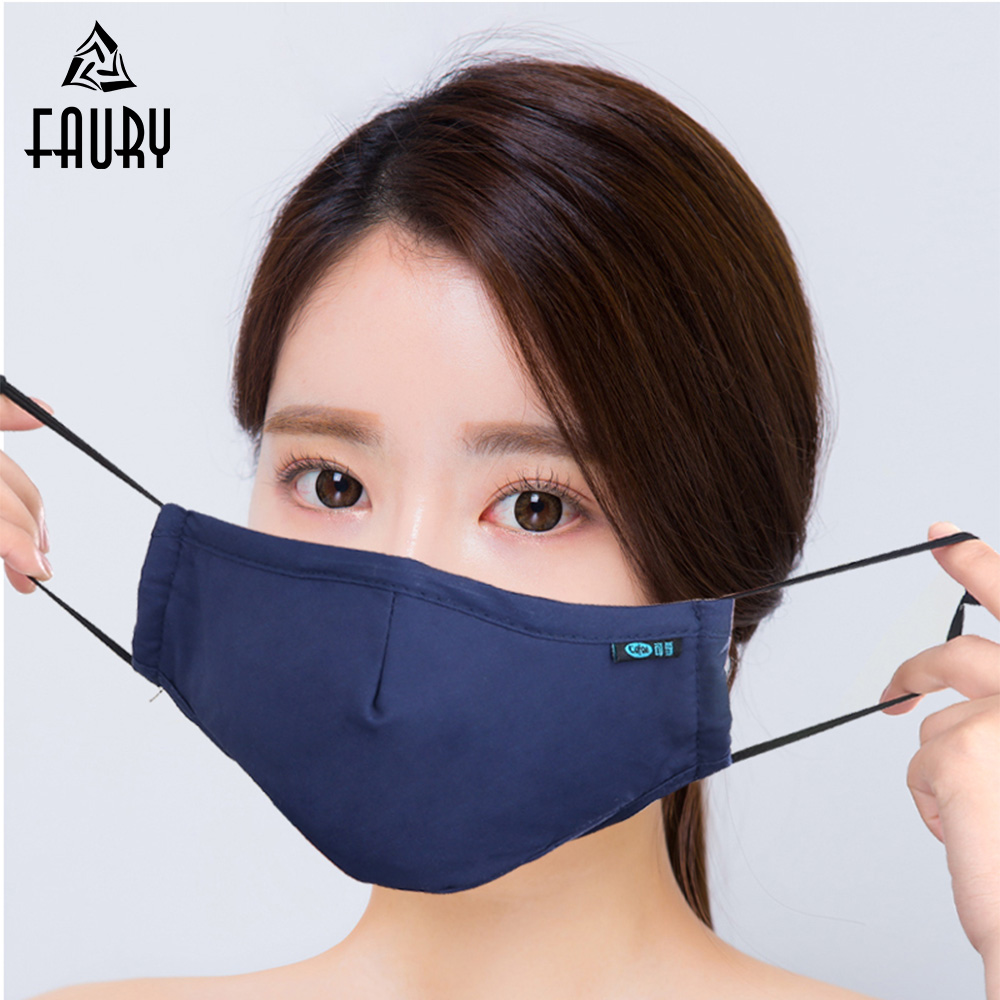 Surgical Medical Mask Hanging Ear Type Adult PM2.5 Masks 1pcs/Bag With 4pcs Filter Element Non-woven PM2.5