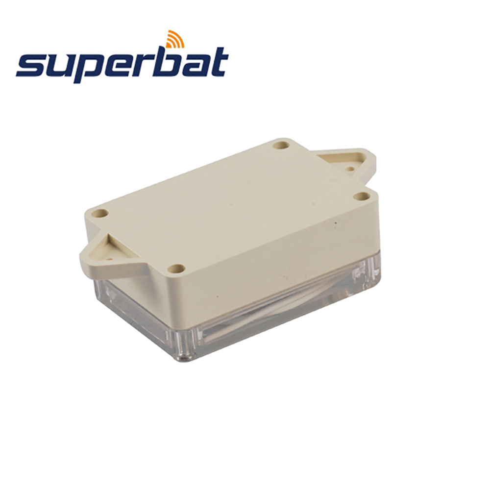 Superbat Waterproof 83*58*33mm Clear Cover Plastic Electronic Project Box Enclosure Case 3.27
