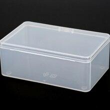 Прозрачная пластиковая коробка для хранения PP-5, Упаковка для продуктов, туалетный чехол, мини-Чехол, Размер 10,5*6,5*4 см