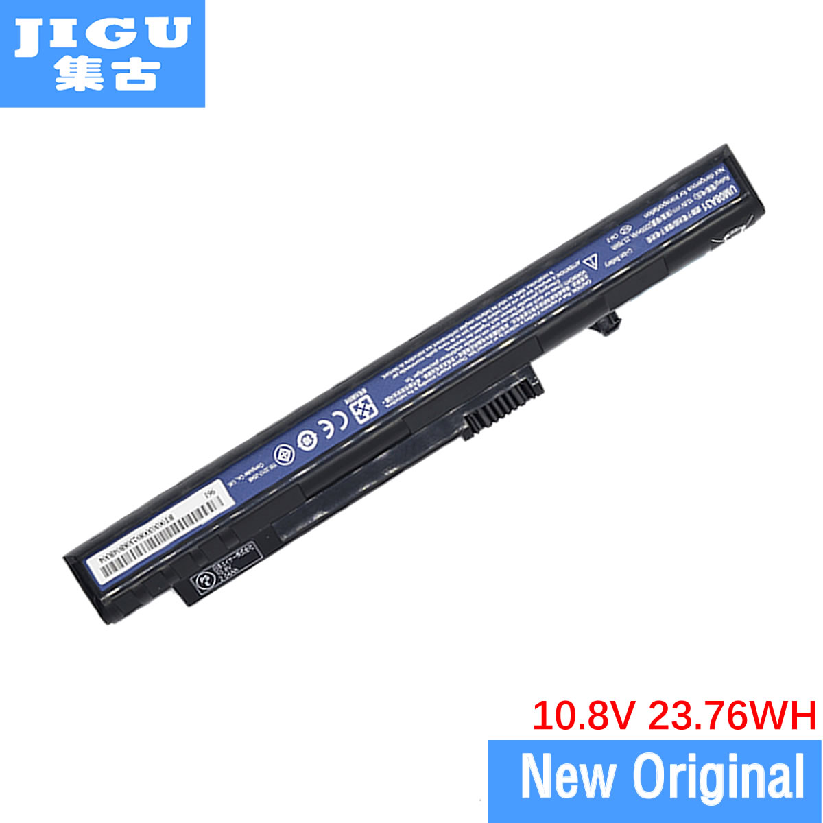 JIGU Original Laptop <font><b>Battery</b></font> For ACER For ASPIRE ONE 10.1' 8.9' 571 A110 A150 D150 D250 P531 P531h ZG5 <font><b>10.8V</b></font> <font><b>2200mah</b></font> image