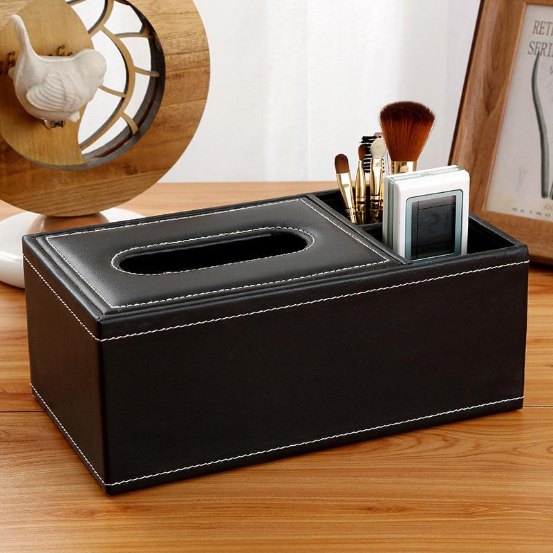 Image 2 - New Fashion Wooden Tissue Roll Paper Wooden Tissue Box Home Bathroom Car Tissue Box Container Vintage Style Storage Box-in Tissue Boxes from Home & Garden