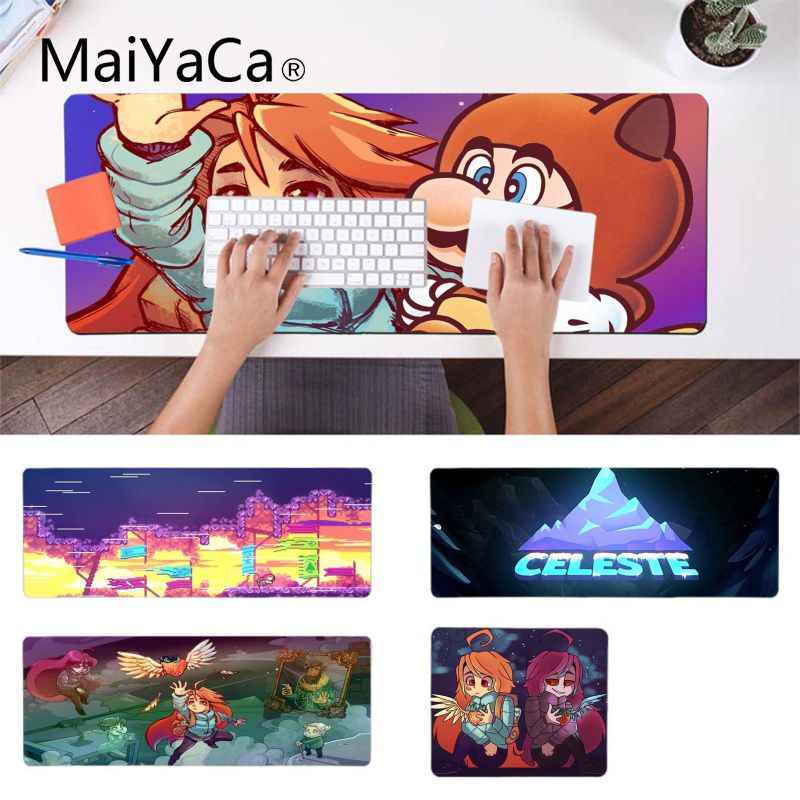 MaiYaCa Vintage Cool Celeste game Keyboard Gaming MousePads Gamer Speed Mice Retail Small Rubber Mousepad